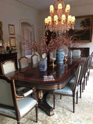 Ten seater dining table/dining set image 1