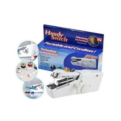 Mini Portable Battery Power Handheld Sewing Machine image 1