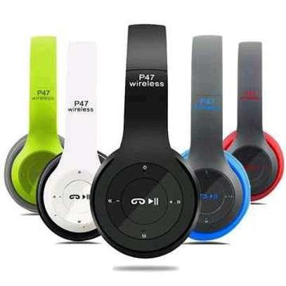 P47 Quality wireless bluetooth headphones image 1