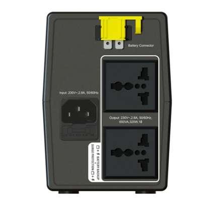 APC Back-UPS 650VA, 230V, AVR, Universal Sockets image 3
