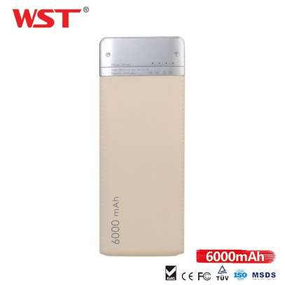 WST Power Bank Ultra Slim 6000mah image 3