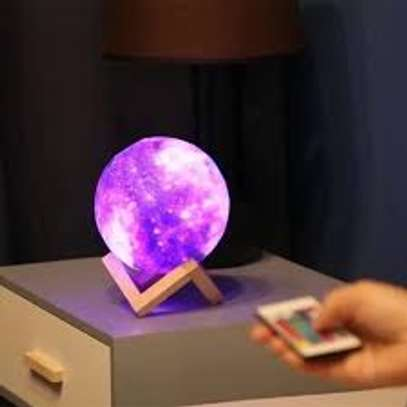 Rechargable 16 Colors 3D Galaxy Lamp image 1
