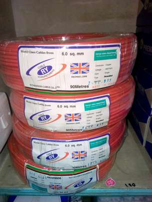 6.0mm Single core Electrical cables