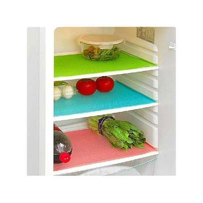 Washable Refrigerator Mats Drawer Mats Table Placemats-4 pack image 1