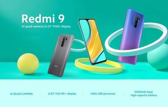 """Redmi 9 , 6.53"""" 4GB RAM+64GB ROM ,Dual SIM, 4G LTE image 1"""