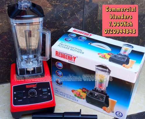 REDBERRY commercial blenders image 2