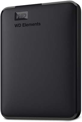 WD 5TB Elements Portable External Hard Drive HDD, USB 3.0, Compatible with PC, Mac, PS4 & Xbox image 1