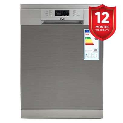 VON VALZ-14FGS Dishwasher Machine 14PS P.Memory - Silver image 1