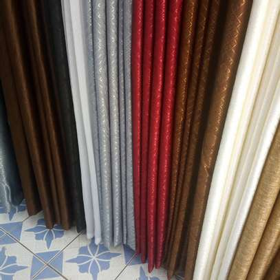 HIGH QUALITY PLAINS CURTAINS  AND SHEERS DIFFERENT COLOUR PER METER FROM 850 TO 1000 image 13