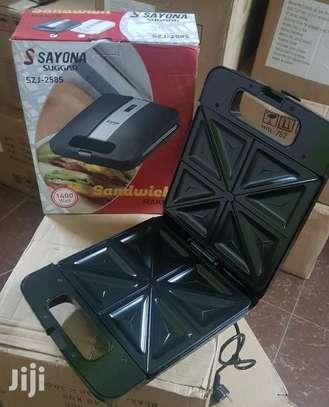 Sayona 4 Slice Sandwich Maker image 3