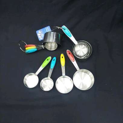 Stainless Steel Measuring Cups image 1