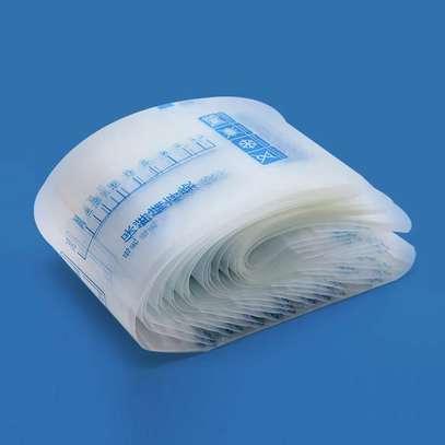 30pcs 200ml breastmilk storage bags image 1