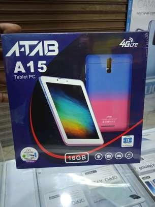 Atab A15 Tablets 16gb 2gb ram- Dual Sim tabs+4G network image 1