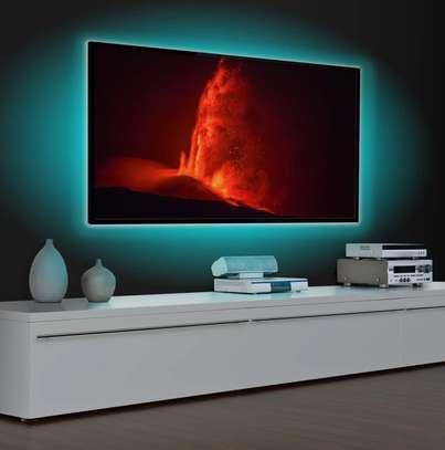 RGB LED TV Backlight USB Powered LED TV Strip Light 5050 With Bluetooth LED controller app image 2