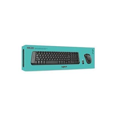 Combo - Logitech Wireless Keyboard & Mouse MK220 image 1