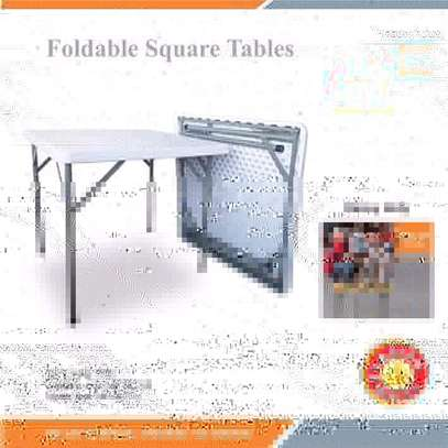 foldable tables, chairs and Stools are available for both indoor and outdoor use image 2