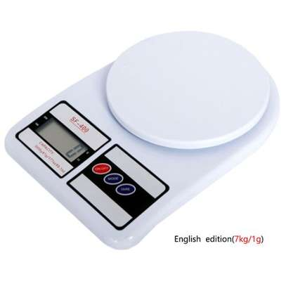 Digital Kitchen Electronic Cooking Weighing Scale image 1