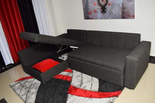 Sofabed with Storage Space image 4