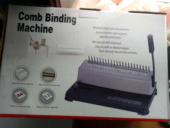 COMP BINDING MACHINE image 1
