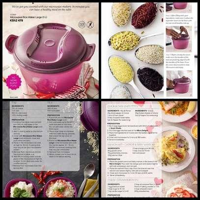 Tupperware Microwave Rice Maker Large (3 L) image 1