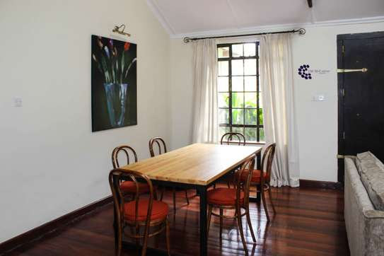 Furnished 2 bedroom house for rent in Old Muthaiga image 8