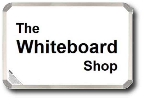 Dry Erase Whiteboards in Stock suitable for classrooms and offices. 4x4fts image 1