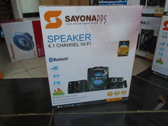 SAYONA 4.1CH  SHT-1257BT  13500 PMPO