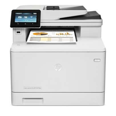 HP Pro m477dw Color All-in-One Business Printer image 1