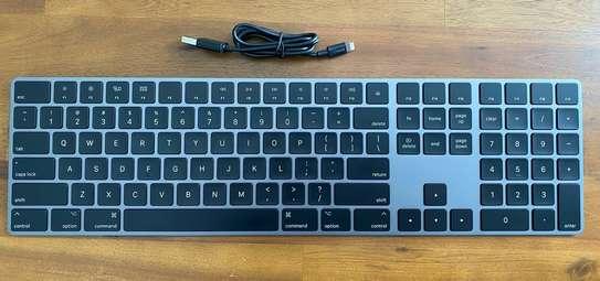Bluetooth Wireless Aluminum Keyboard Space Gray image 2