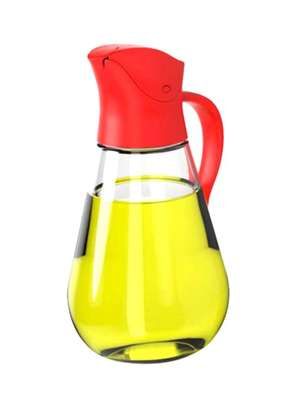 350ML Auto Flip Oil Can-Red image 1