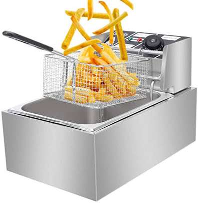 Single Electric Deep Fryers Available image 1