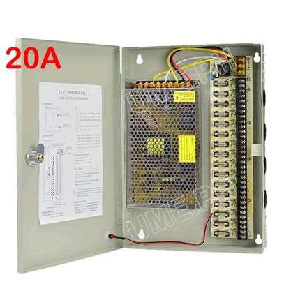 20amp ccTv. Power supply image 1