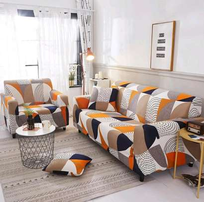 Printed Sofa Covers image 1