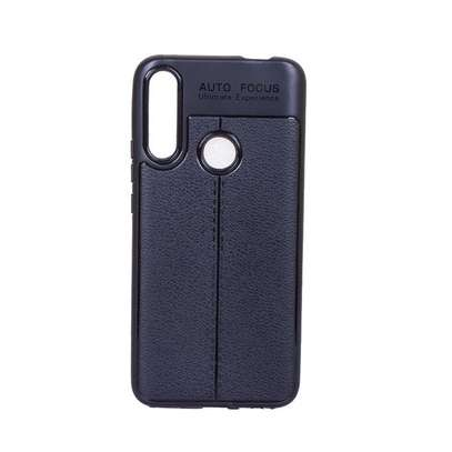 Auto Focus Leather Pattern Soft TPU Back Case Cover for Huawei Y9s/ Y9 2019/Y9 Prime 2019 image 2