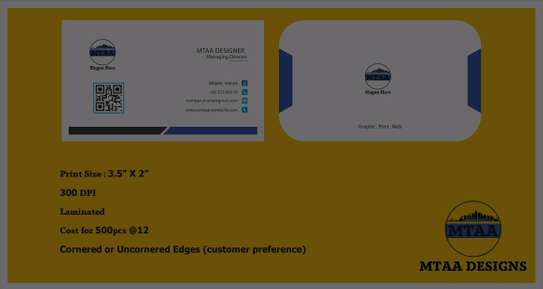 Business Cards Design & Printing image 1