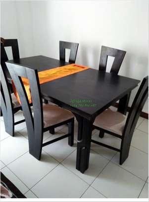 Mahogany dining table image 10