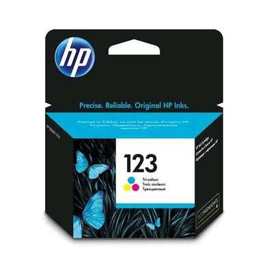 HP 123 inkjet cartridge color image 4