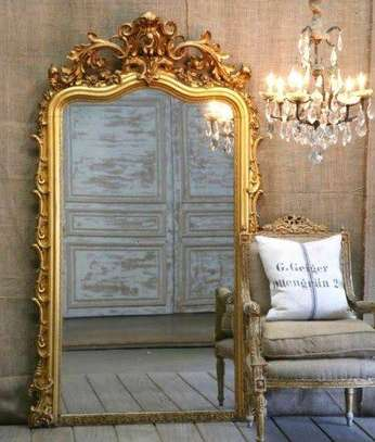 Antique 7foot mirrors image 5