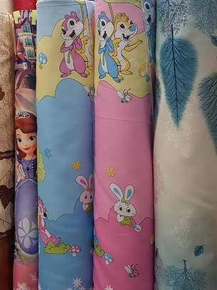 Kids cartoon themed curtains image 6