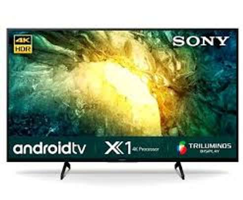 Sony 55 inches Android Smart 55X8000H Digital UHD-4K TVs image 1