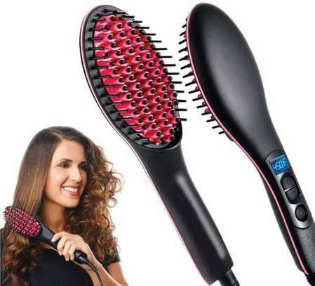Simply Straight Hair Straightener ceramic brush image 1