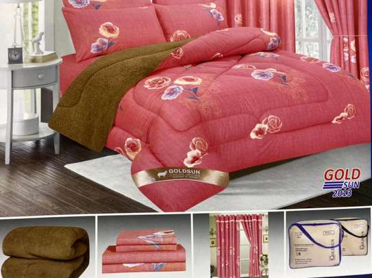 Woolen duvet with matching outfit image 5