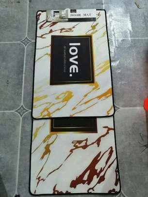 2 in 1 Kitchen long mat /bedside mat /corridor mat image 9