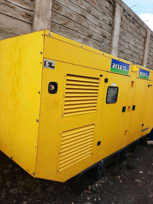 400kva Aksa ex UK generator for hire and sale image 1