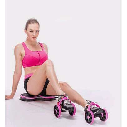 Abdominal Multi-functional Exercise Fitness AB Roller Wheel for Abdominal Fitness & Twist Weight image 4