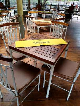 Restaurant tables 4 seater- 6pcs