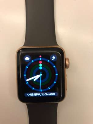 Apple Watch Series 3 (GPS + Cellular), 38MM Charger (Gold)