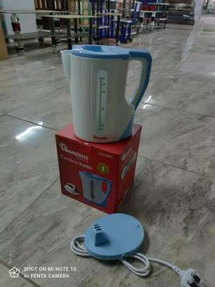 Ramtons Cordless Electric Kettle 1.7 Liters White And Blue image 1