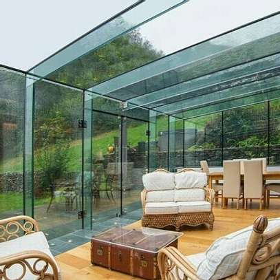 Architectural interior glass-works image 3