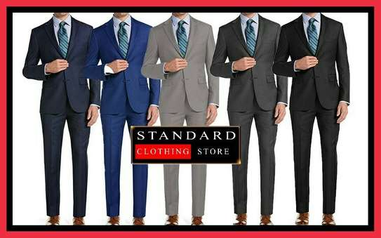 Slim Fitting Designer Suits image 1